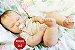 Bebê Reborn Menino Bebê Quase Real Modelo Criança Grande Toddler Com Lindo Enxoval E Chupeta - Imagem 1