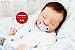 Bebê Reborn Menino Detalhes Reais Bebê Luxuoso Com Enxoval Completo E Chupeta Lindíssimo - Imagem 1