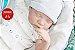 Bebê Reborn Menino Realista Parece Um Bebê De Verdade Bonito E Delicado Acompanha Enxoval - Imagem 1