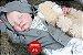 Bebê Reborn Menino Detalhes Reais Anjinho Encantador Bebê Sofisticado Com Enxoval E Chupeta - Imagem 1