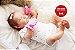Boneca Bebê Reborn Menina Realista Linda Anjinha Cheia De Detalhes Acompanha Enxoval - Imagem 2