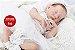 Bonecas Bebê Reborn Menina Detalhes Reais De Um Bebê De Verdade 49 Cm Com Enxoval E Acessórios - Imagem 2