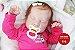 Bebê Reborn Menina Parece Um Bebê De Verdade Bebê Recém Nascida Lindíssima Com Enxoval - Imagem 1