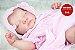 Boneca Bebê Reborn Menina Detalhes Reais Maravilhosa Bebê Com Acessórios E Um Lindo Enxoval  - Imagem 1