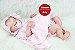 Boneca Bebê Reborn Menina Detalhes Reais Maravilhosa Bebê Com Acessórios E Um Lindo Enxoval  - Imagem 2