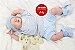 Bebê Reborn Menino Super Realista Anjinho Perfeito Com Detalhes De Um Bebê De Verdade - Imagem 2