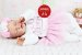 Boneca Bebê Reborn Menina Realista Bebê Encantadora Com Acessórios E Enxoval Completo - Imagem 2
