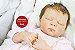 Boneca Bebê Reborn Menina Realista Bonita E Encantadora Acompanha Lindo Enxova E Acessórios  - Imagem 1