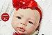 Boneca Bebê Reborn Menina Detalhes Reais Super Linda Acompanha Acessórios e Enxoval Completo - Imagem 1