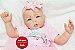 Boneca Bebê Reborn Menina Super Realista Lindíssima Um Verdadeiro Presente Com Lindo Enxoval - Imagem 2