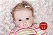 Bebê Reborn Menina Realista Boneca Encantadora Parece Bebê De Verdade Com Acessórios - Imagem 1