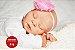Boneca Bebê Reborn Menina Bebê Quase Real Anjinha Muito Fofa Com Enxoval Completo - Imagem 2