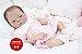 Bebê Reborn Menina Realista Modelo Oriental Lindíssima Acompanha Acessórios E Enxoval - Imagem 1