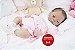 Bebê Reborn Menina Realista Modelo Oriental Lindíssima Acompanha Acessórios E Enxoval - Imagem 2