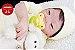 Bebê Reborn Menina Detalhes Reais Boneca Encantadora Com Acessórios E Um Lindo Enxoval - Imagem 1