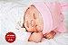 Bebê Reborn Menina Realista Delicada E Perfeita 51 Cm Membros Em Vinil Siliconado Com Enxoval - Imagem 1