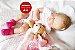 Bebê Reborn Menina Detalhes Reais Anjinha Linda E Delicada Com Enxoval Completo E Acessórios - Imagem 2