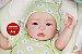 Bebê Reborn Menina Realista Um Amor De Bebê Anjinha Delicada Acompanha Enxoval E Chupeta - Imagem 1