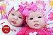 Bebê Reborn Menina Gêmeas Detalhes Reais Lindas E Encantadoras Acompanha Enxoval Completo - Imagem 1