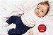 Boneca Bebê Reborn Menina Realista Super Fofa E Delicada Acompanha Lindos Acessórios - Imagem 2