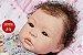 Bebê Reborn Menina Super Realista Boneca Artesanal Sofisticada Com Enxoval Completo E Chupeta - Imagem 1