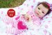 Bebê Reborn Menina Realista Princesa Bonita E Sofisticada Acompanha Lindo Enxoval E Chupeta - Imagem 2