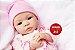 Bebê Reborn Menina Realista Boneca Encantadora Com Enxoval Completo Um Verdadeiro Presente - Imagem 1