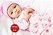 Bebê Reborn Menina Realista Boneca Encantadora Com Enxoval Completo Um Verdadeiro Presente - Imagem 2