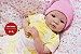 Bebê Reborn Menina Detalhes Reais Anjinha Linda E Maravilhosa Acompanha Enxoval E Chupeta  - Imagem 1