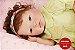 Boneca Bebê Reborn Menina Bebê Quase Real Delicada E Encantadora Acompanha Acessórios - Imagem 2