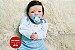 Bebê Reborn Menino Detalhes Reais 43 Cm Bonito E Sofisticado Com Enxoval Completo - Imagem 1