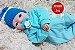 Bebê Reborn Menino Bebê Quase Real Anjinho Lindo E Perfeito Com Enxoval Completo E Chupeta - Imagem 1