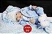 Bebê Reborn Menino Realista Bonito E Delicado Um Verdadeiro Presente Com Lindo Enxoval - Imagem 2