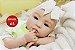 Boneca Bebê Reborn Menina Detalhes Reais Linda Bebê Olhos Azuis Com Enxoval E Chupeta - Imagem 1