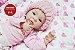 Bebê Reborn Menina Bebê Quase Real Sofisticada E Perfeita Um Verdadeiro Presente Promoção - Imagem 2