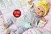 Bebê Reborn Menina Realista Muito Linda E Fofa Parece Um Bebê De Verdade Com Lindo Enxoval - Imagem 2
