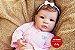 Boneca Bebê Reborn Menina Detalhes Reais De Um Bebê De Verdade Linda Com Enxoval Completo - Imagem 2