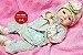 Boneca Bebê Reborn Menina Realista Super Linda Recém Nascida Parece Um Bebê De Verdade - Imagem 2