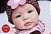 Boneca Bebê Reborn Menina Realista Linda E Perfeita Bebê Recém Nascida Com Enxoval Completo - Imagem 1