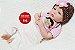 Boneca Bebê Reborn Menina Realista Linda E Perfeita Bebê Recém Nascida Com Enxoval Completo - Imagem 2
