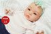 Boneca Bebê Reborn Menina Detalhes Reais Bebê Artesanal Sofisticada Com Lindo Enxoval - Imagem 1