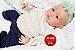 Boneca Bebê Reborn Menina Detalhes Reais Bebê Artesanal Sofisticada Com Lindo Enxoval - Imagem 2
