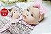 Boneca Bebê Reborn Menina Detalhes Reais De Um Bebê De Verdade Linda E Perfeita Promoção - Imagem 2