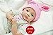 Boneca Bebê Reborn Menina Detalhes Reais Anjinha Linda E Maravilhosa Um Verdadeiro Presente - Imagem 2