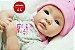 Boneca Bebê Reborn Menina Detalhes Reais Anjinha Linda E Maravilhosa Um Verdadeiro Presente - Imagem 1