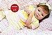 Boneca Bebê Reborn Menina Bebê Quase Real Bela E Encantadora Anjinha Perfeita Com Enxoval - Imagem 1