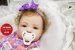 Bebê Reborn Menina Detalhes Reais Bonita E Encantadora Acompanha Acessórios E Enxoval - Imagem 1