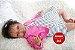 Boneca Bebê Reborn Menina Realista Negra Lindíssima Bebê Recém Nascida Com Enxoval E Chupeta - Imagem 2