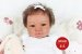 Bebê Reborn Menina Detalhes Reais Bebê Negra Encantadora Acompanha Enxoval E Chupeta - Imagem 1