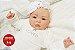 Bebê Reborn Menina Detalhes Reais Lindíssima Parece Um Bebê De Verdade Com Acessórios - Imagem 2